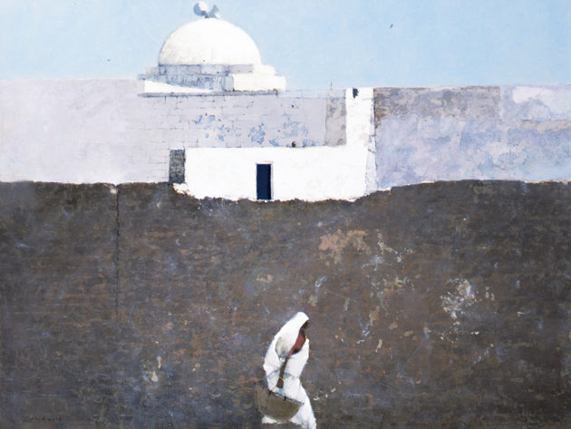 開催中〜9月22日(火・祝)「砂との出逢い 藤沢 章 ‒中東・アラブの光のもとで‒」